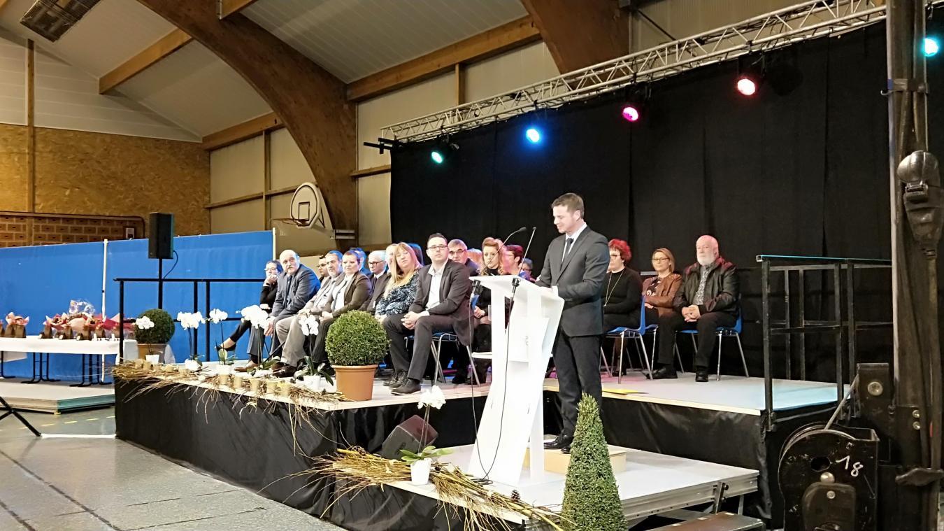 Les quatre annonces à retenir des vœux du maire de Calonne-Ricouart