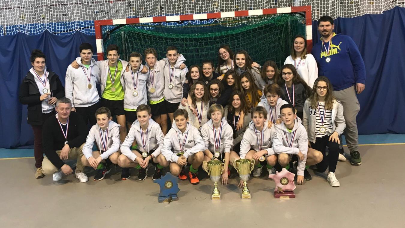 Les jeunes du TAC Hockey ont brillé en Ardèche