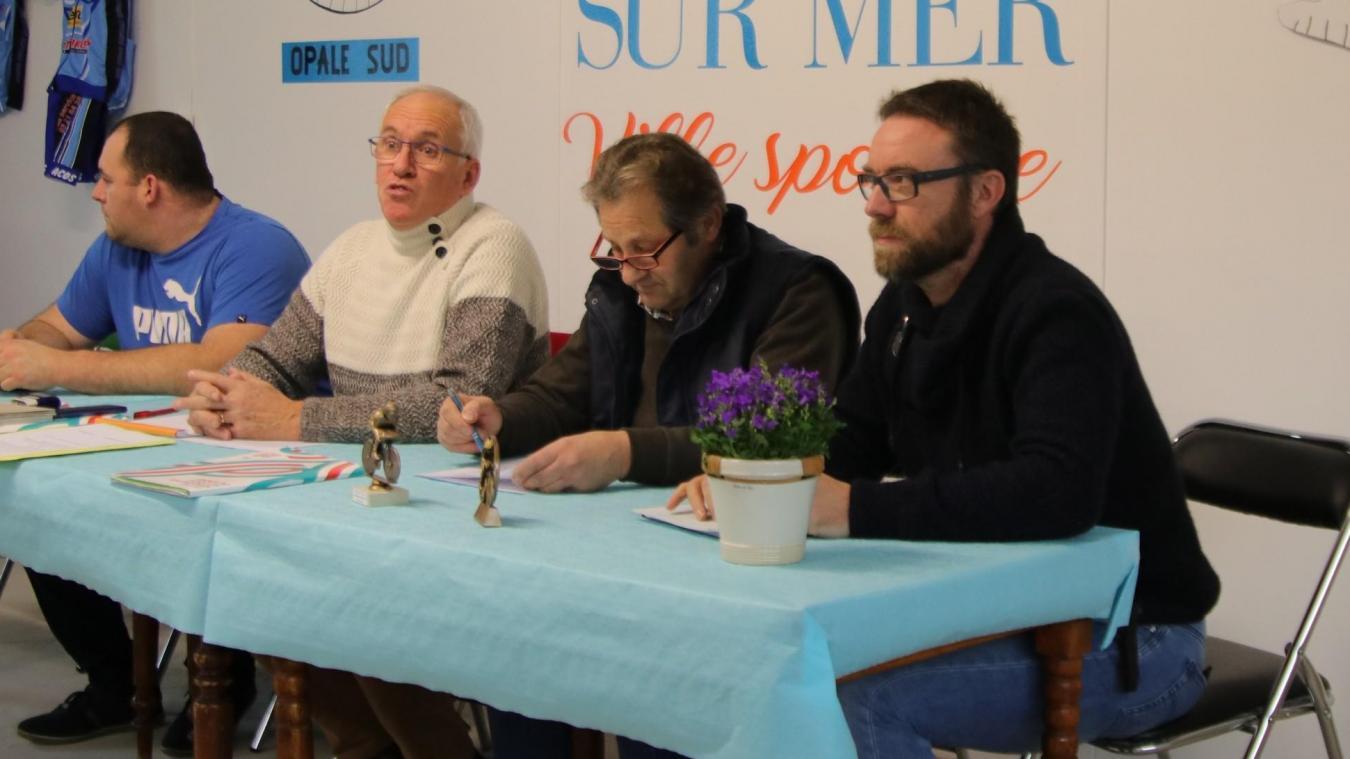 L'assemblée générale du club cycliste, s'est tenue au nouveau local, partagé avec le club des Grizzlys.