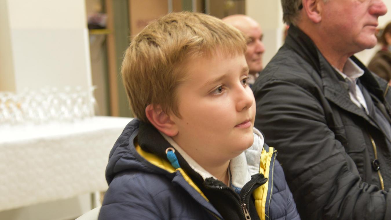 À 10 ans, Paul vient découvrir les nouveaux projets depuis tout petit.