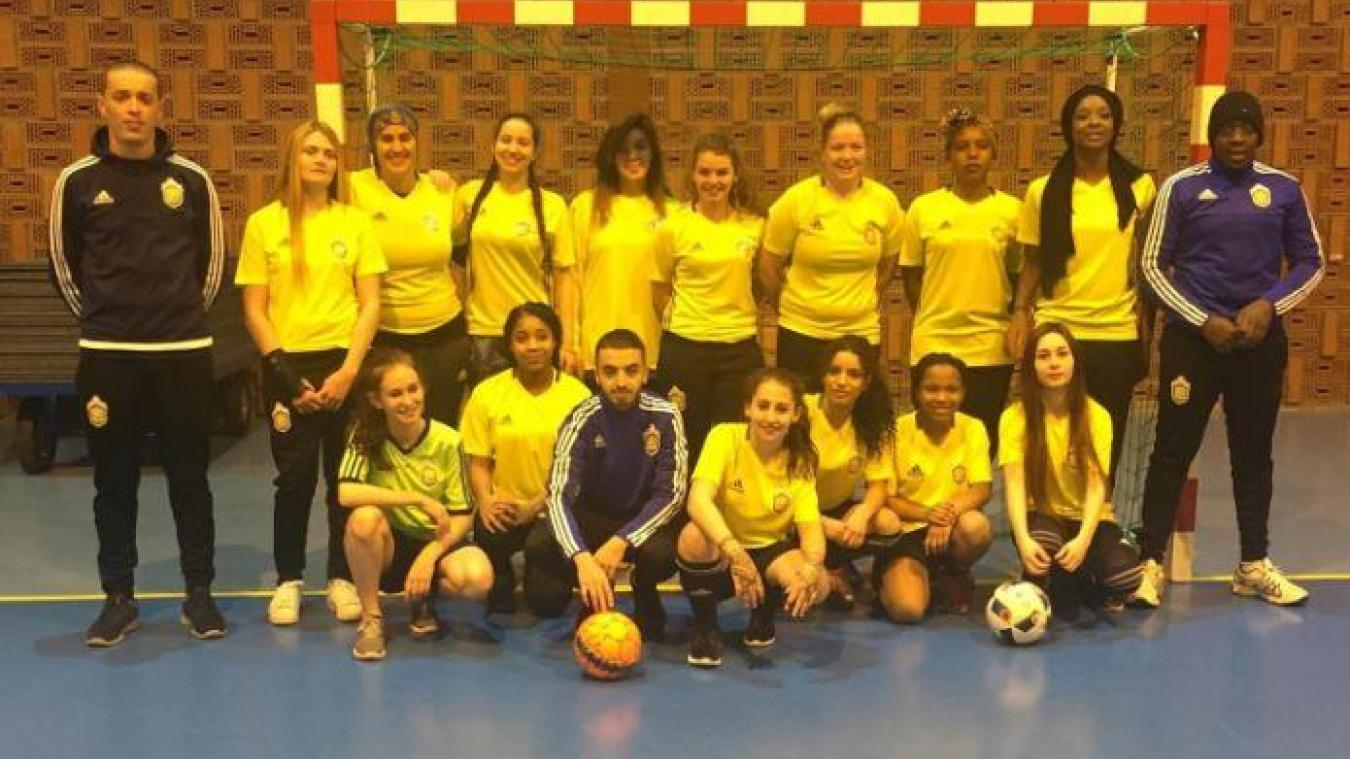 Elles sont 15 jeunes filles à tenter l'aventure du championnat départemental, une première pour cette discipline dans le Dunkerquois.