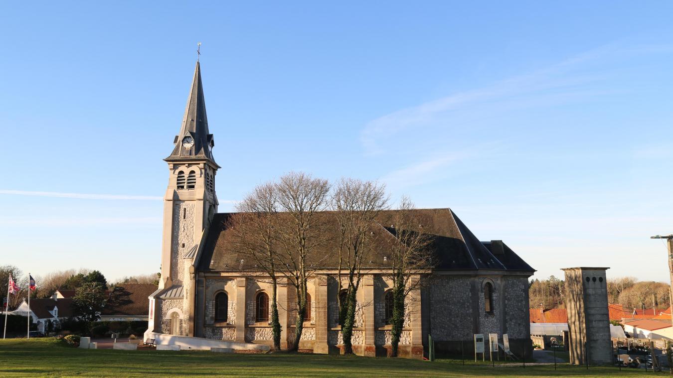 L'église de Camiers, vieille de 104 ans, doit connaître des travaux de mise en sécurité.