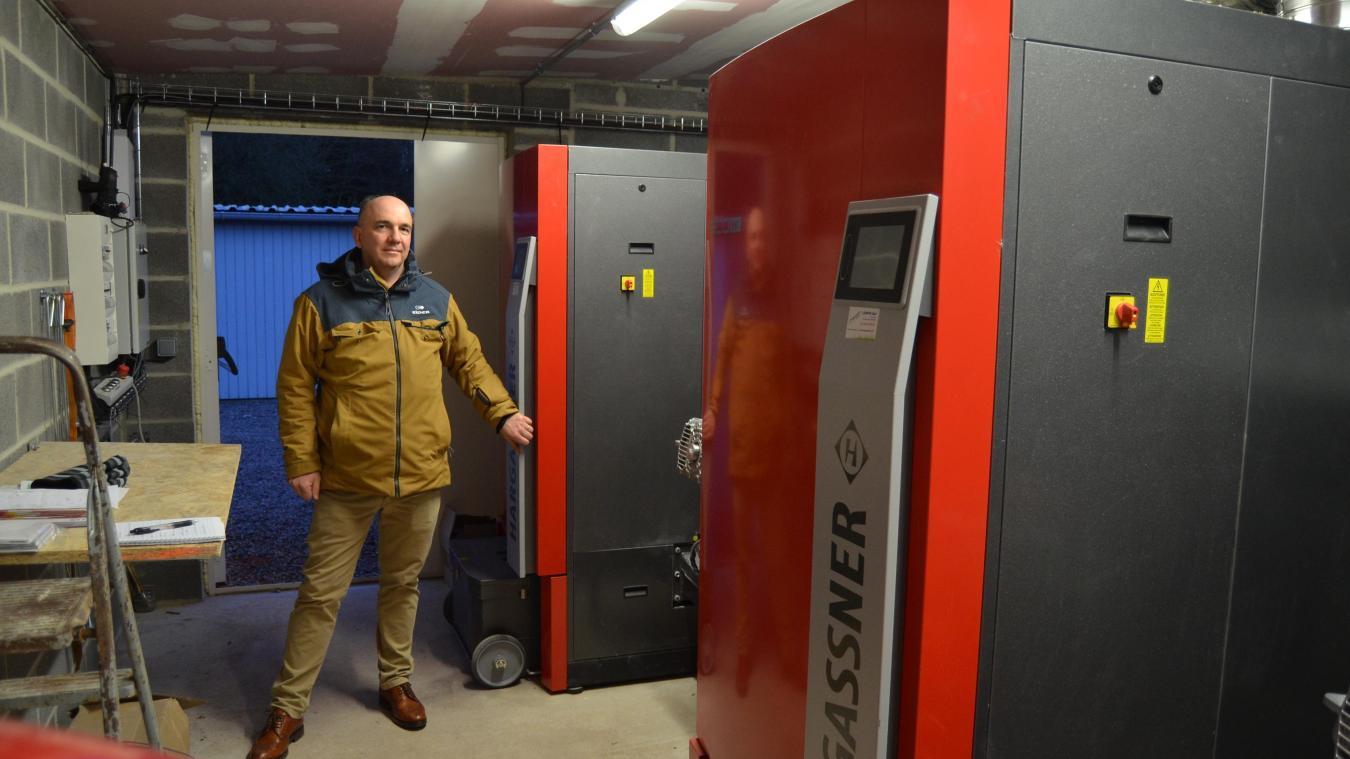 C'est Jacques Blarel, conseiller municipal, qui a pensé à la chaudière biomasse.