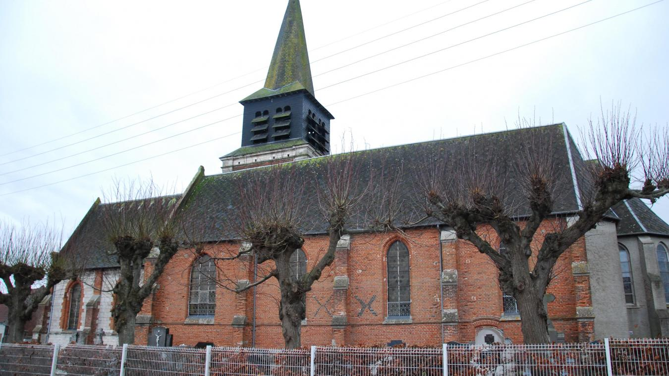 La réflexion s'inscrit dans le cadre de la rénovation de l'église.