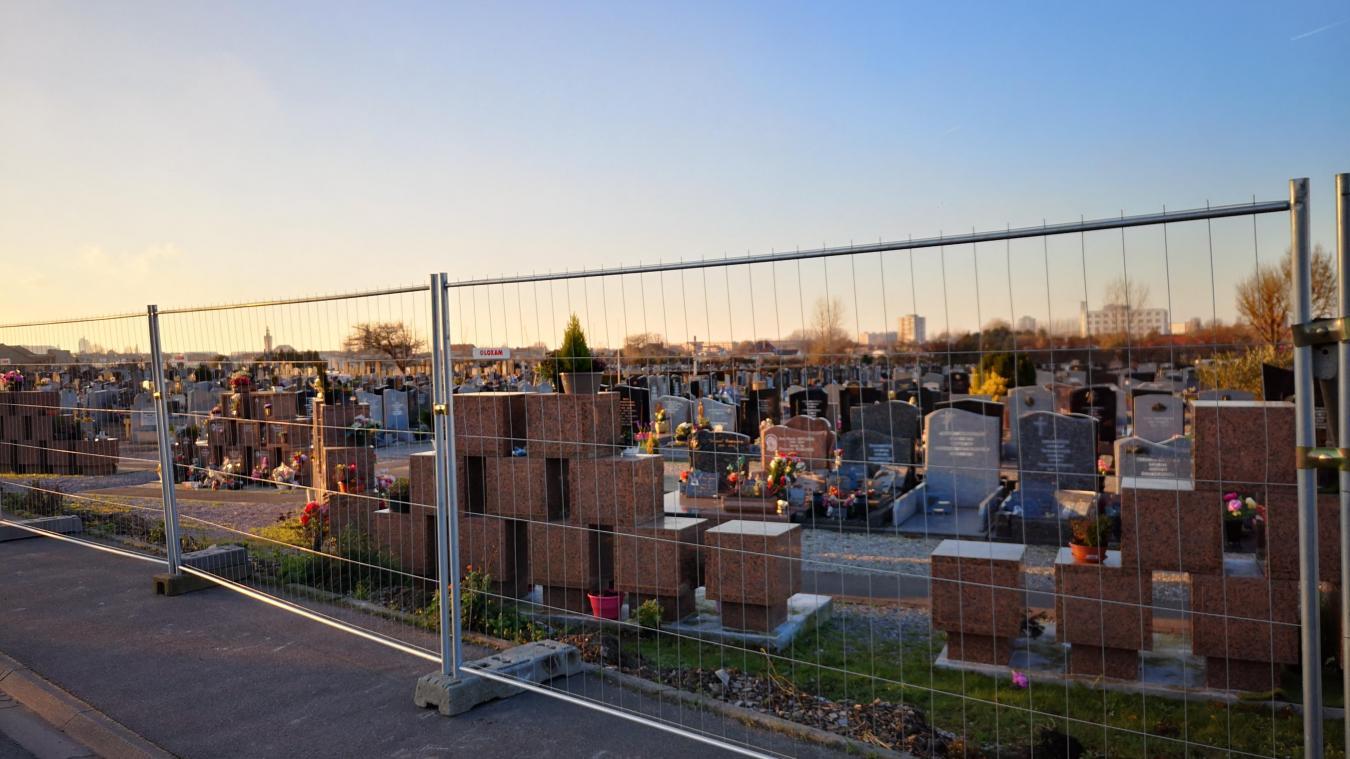 Depuis le 7 janvier, des barrières remplacent l'ancienne clôture qui était vétuste.