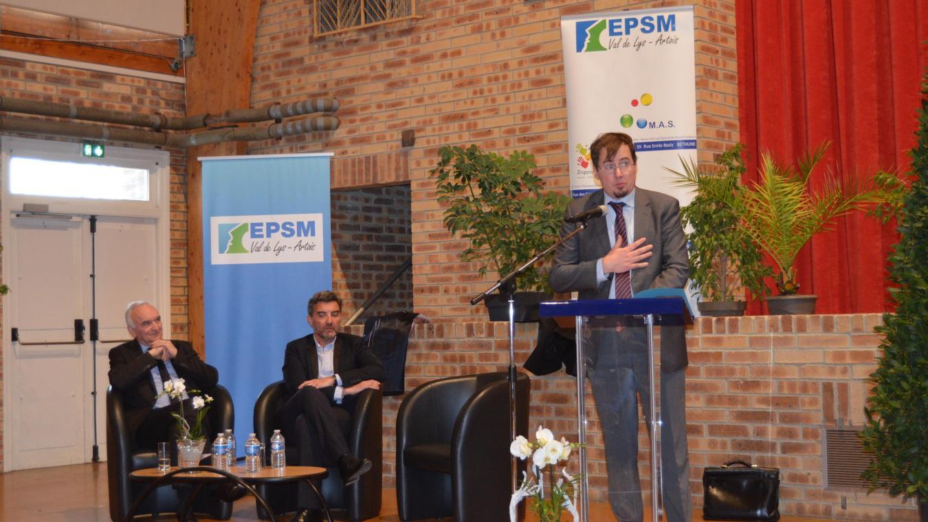 Christian Burgi, directeur de l'EPSM, a évoqué les projets pour 2019.