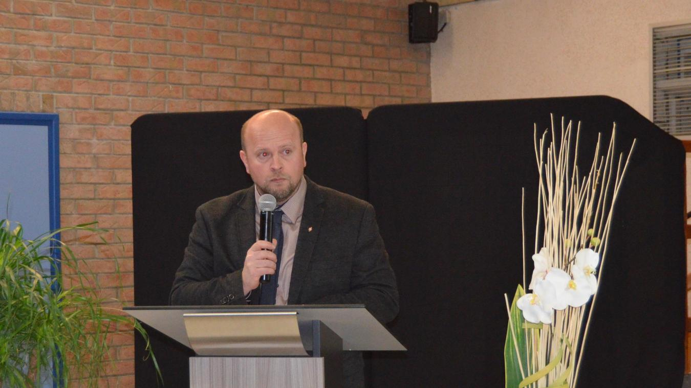 Le maire, Bertrand Cocq, a annoncé les projets pour 2019.