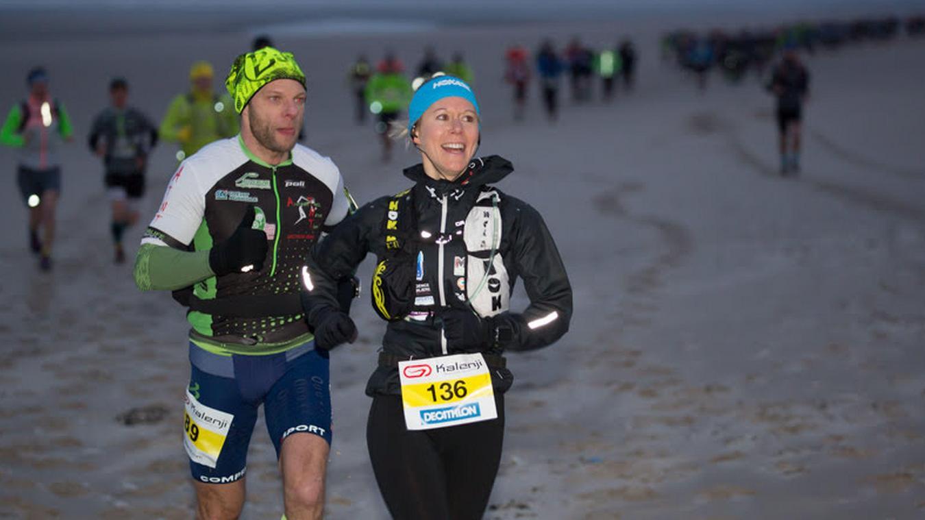 Plusieurs épreuves sont au menu de cette 12 e  édition du Trail D2B dont un marathon de 42 km au départ du Touquet à 8 h.