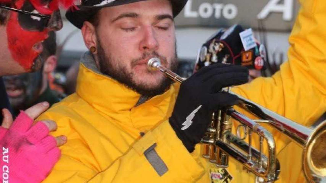 Le trompettiste gère les musiciens depuis 2012.  (Crédit photo Anne Mallevaey)