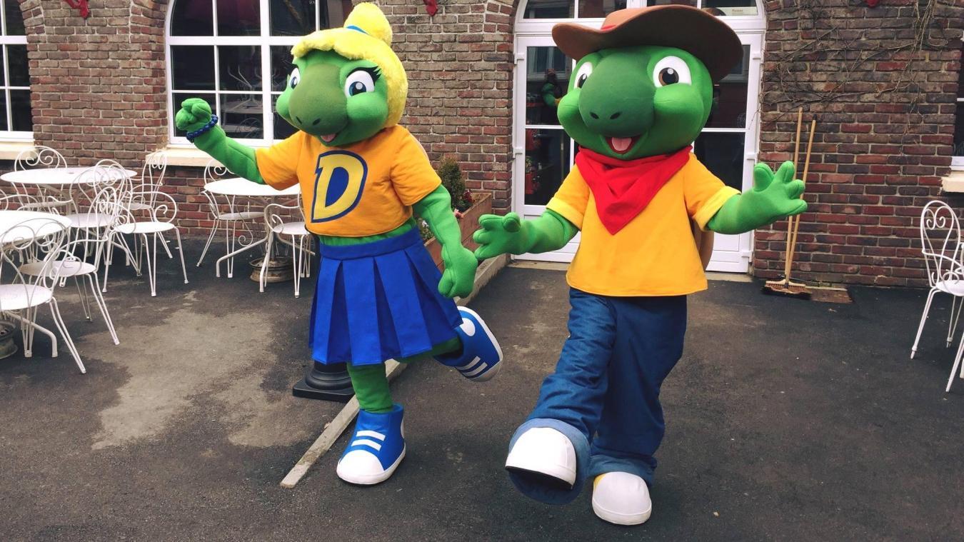 Les mascottes attendent leurs futurs collègues pour une nouvelle saison, d'avril à septembre.
