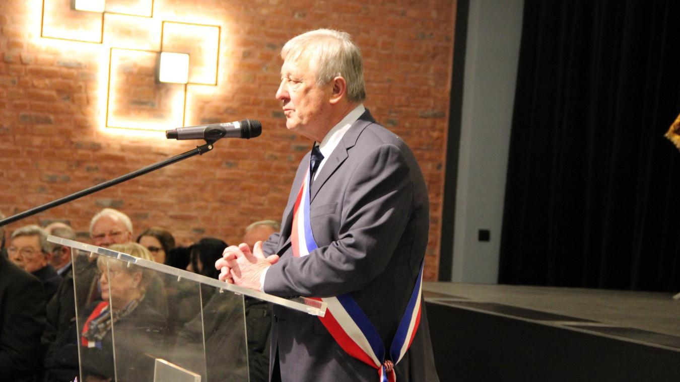 Les cinq annonces à retenir de la cérémonie des vœux du maire d'Auchel