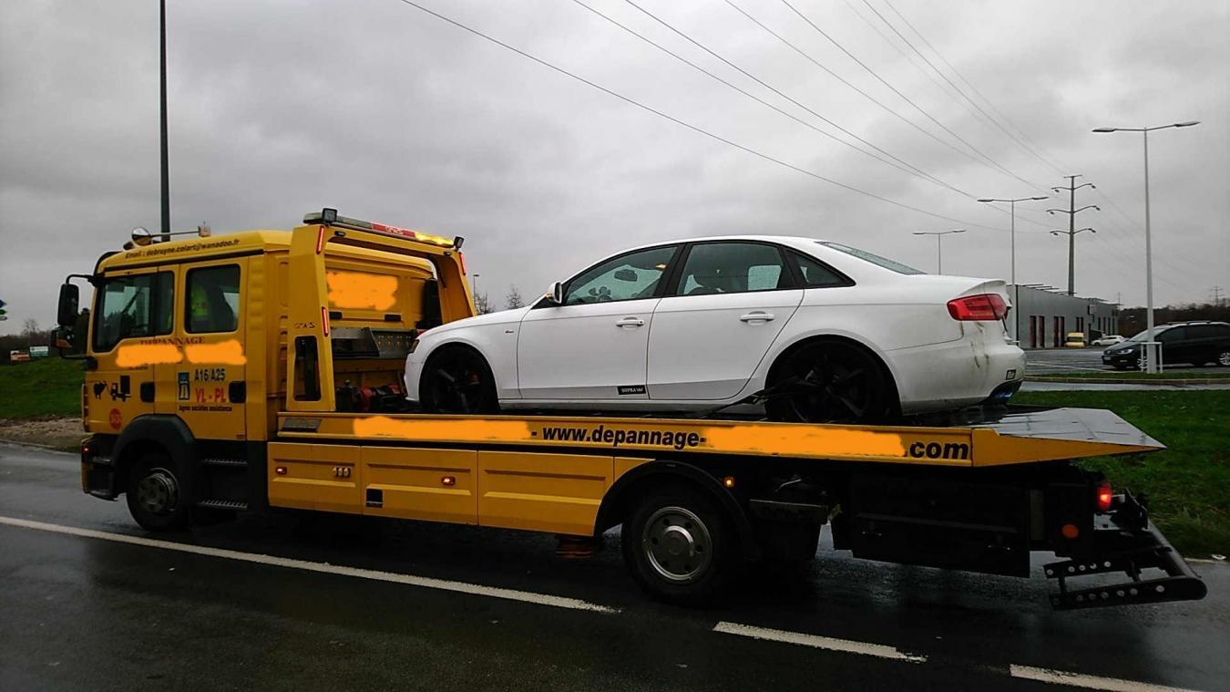 Le chauffeur n'a pas pu récupérer son véhicule. Groupement de gendarmerie départementale du Nord
