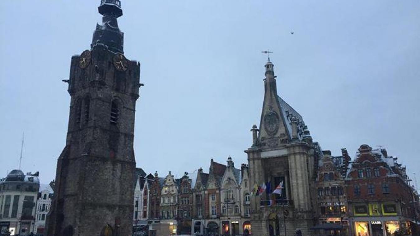 Le Béthunois et l'Auchellois se reveillent sous la neige (Actualisé-galerie photos)