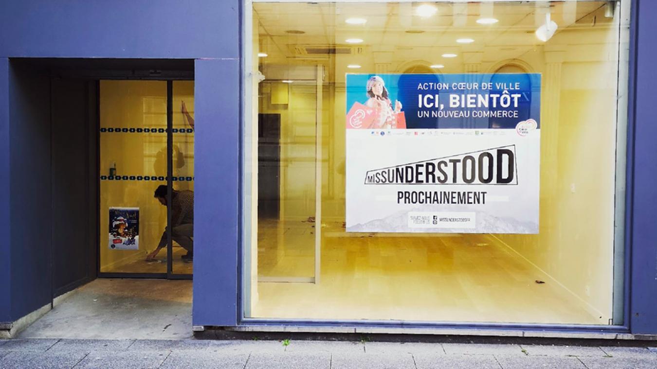 Missunderstood, qui prend le relais d'une boutique éphémère, ouvrira ses portes le lundi 11 février à 14 h.