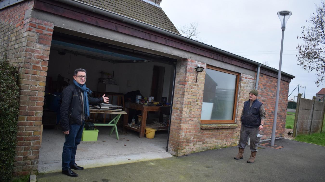 Pour sa commune de Drincham, le maire, Luc Waymel, a utilisé le fonds de concours pour restaurer l'atelier municipal.