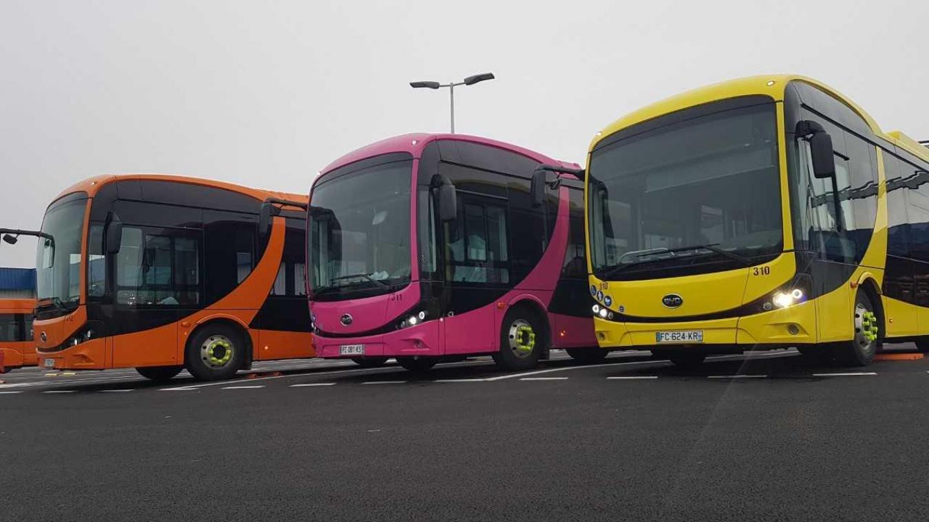Les trois midibus seront mis en service à partir du lundi 4 février.