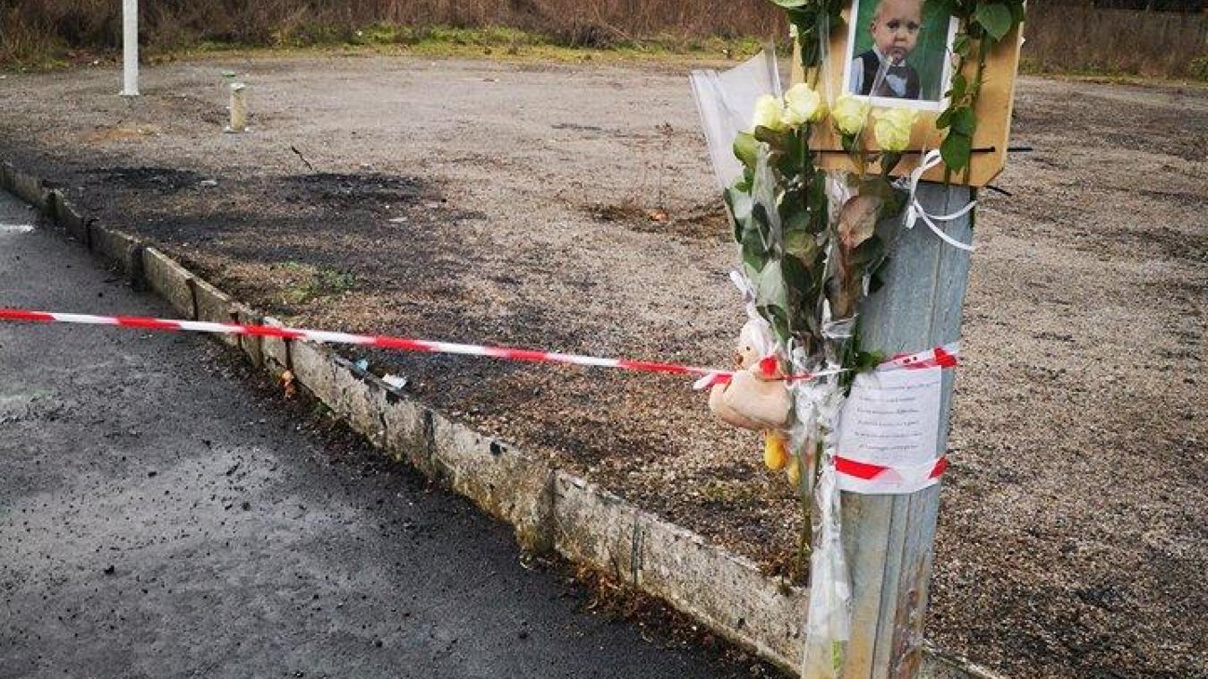 Le petit Enzo, deux ans, fait partie des victimes de l'accident survenu à Houdain, dimanche 27 janvier au soir.