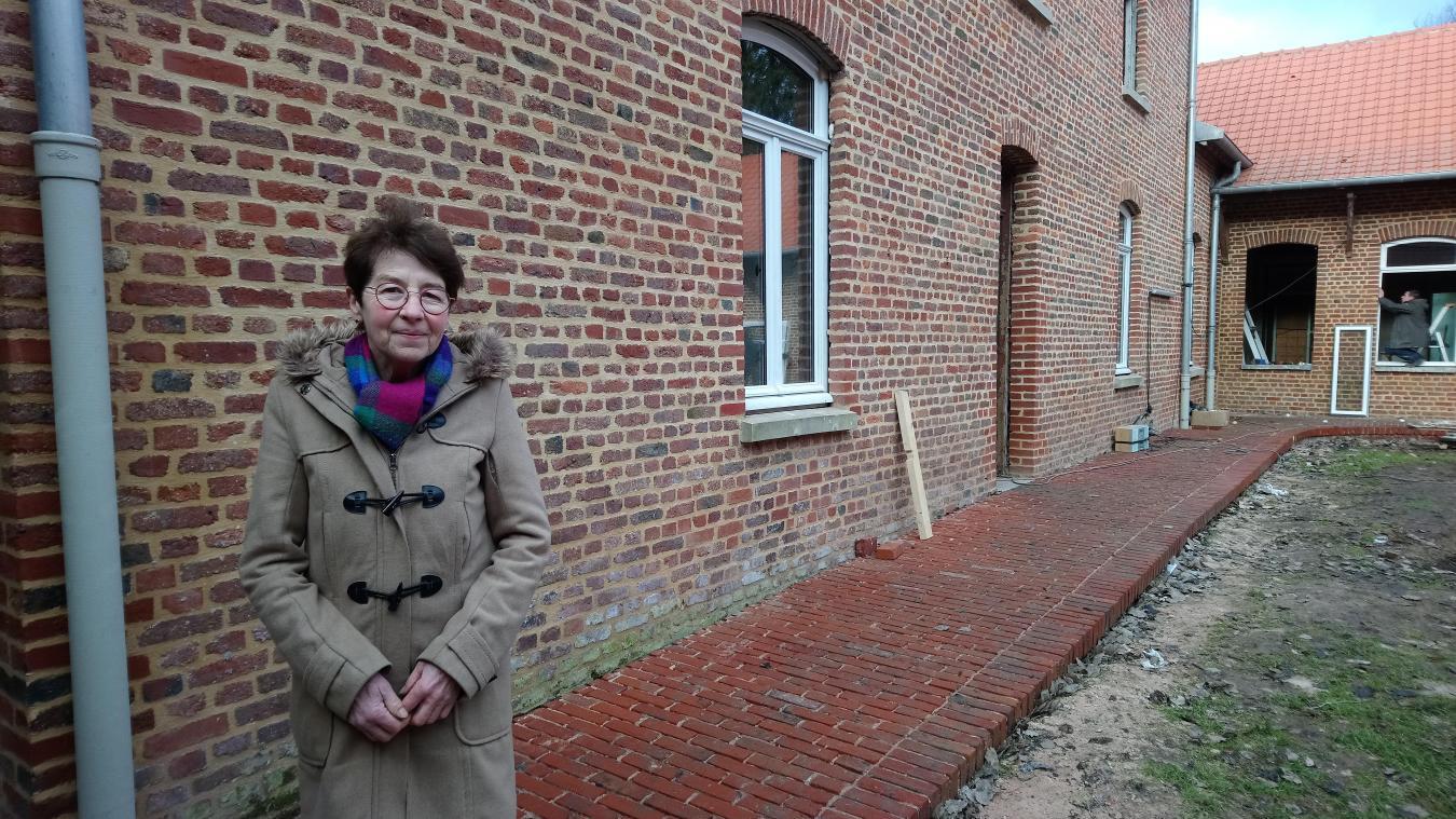 Geneviève Serrure se démène depuis des années pour voir s'ouvrir la Maison des autistes.