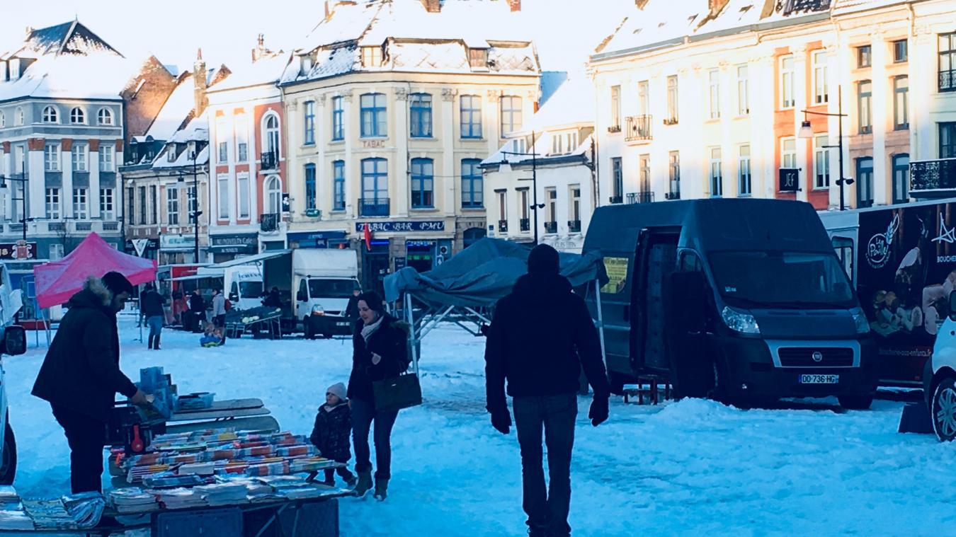 Aire-sur-la-Lys: des vendeurs ont déserté le marché du vendredi