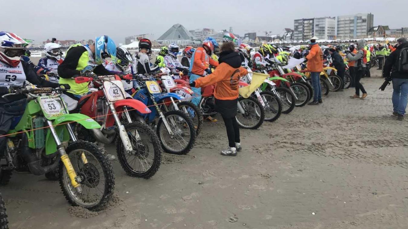 500 motards sont engagés pour la course vintage de ce vendredi 1er février.