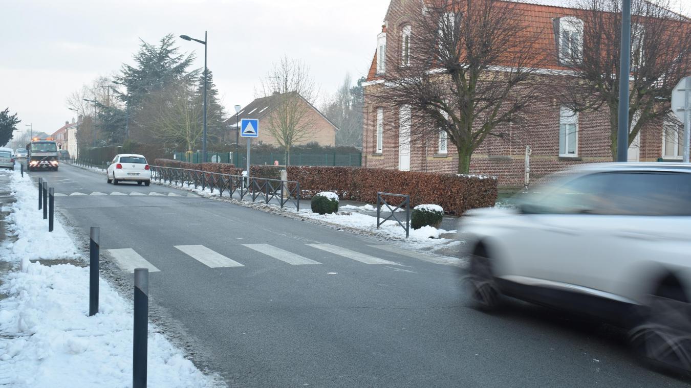 Si la commune devait utiliser des « piétos », il y en aurait certainement au passage-piéton près de l'école, sur la rue principale.