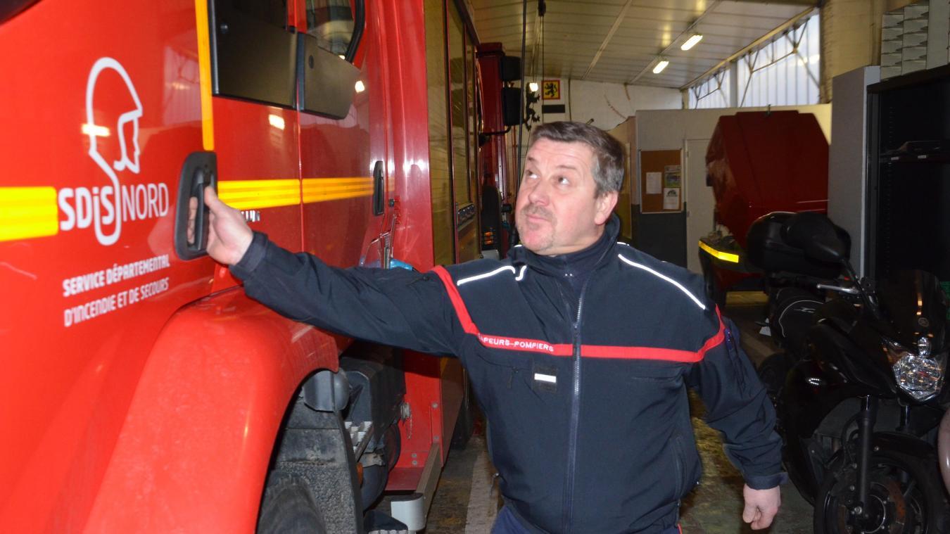 Les 33 sapeurs-pompiers volontaires de Bergues, dont José Mallevaey, ont effectué 728 interventions en 2018.