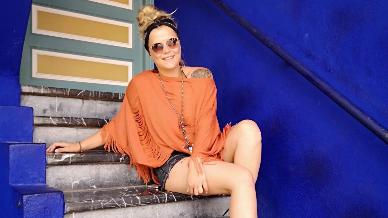 Hélène Wacogne, 26 ans, vient de créer sa propre entreprise de décoration, prêt-à-porter féminin et accessoires.