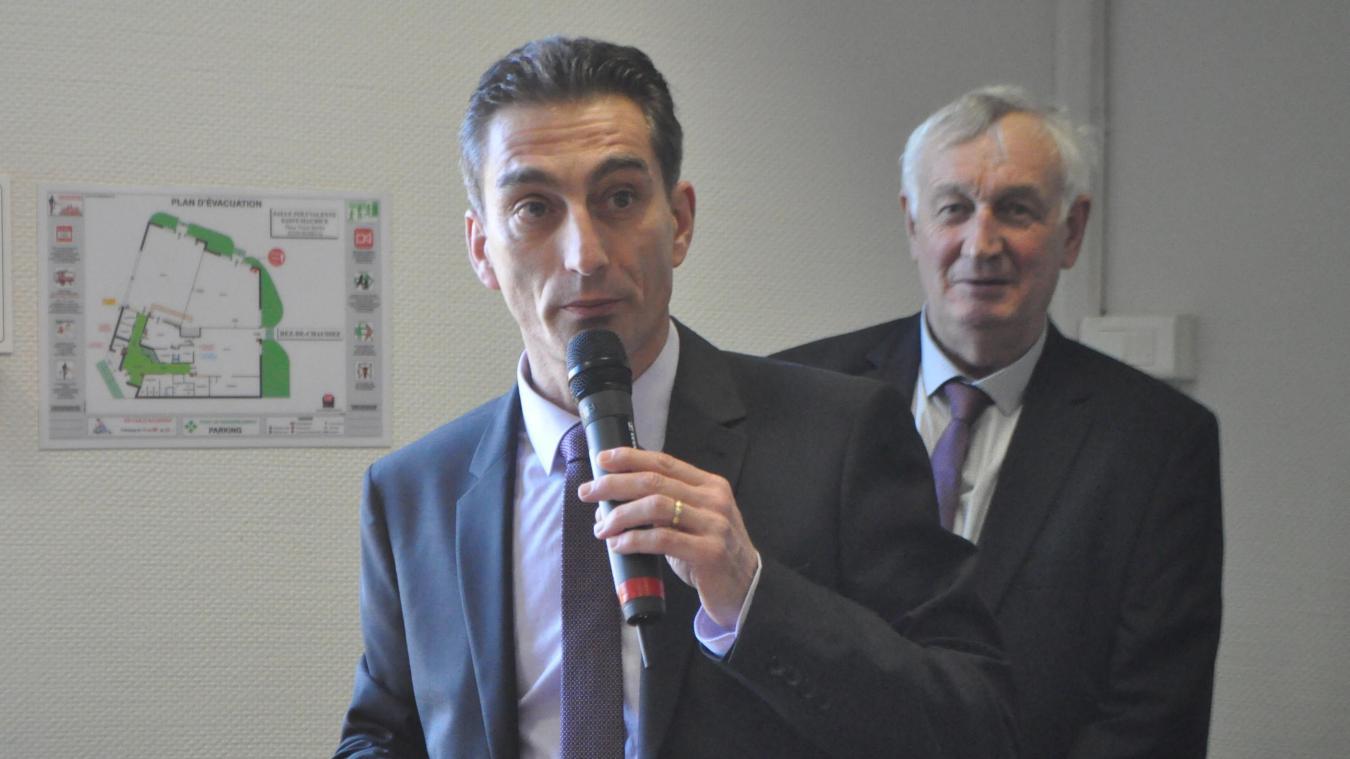 Hervé Deroubaix a présenté ses vœux devant près de 300 personnes.