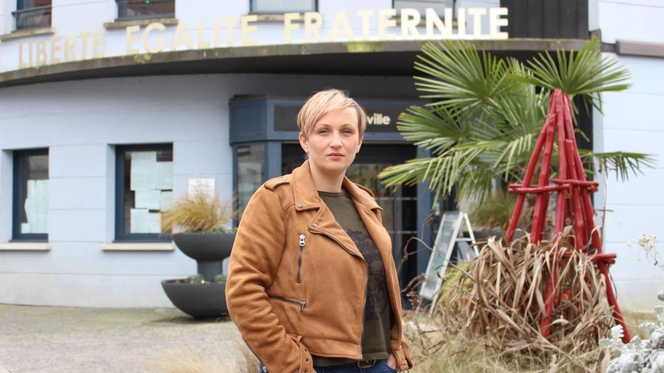 Mathilde fait partie de l'association créée à Houdain.
