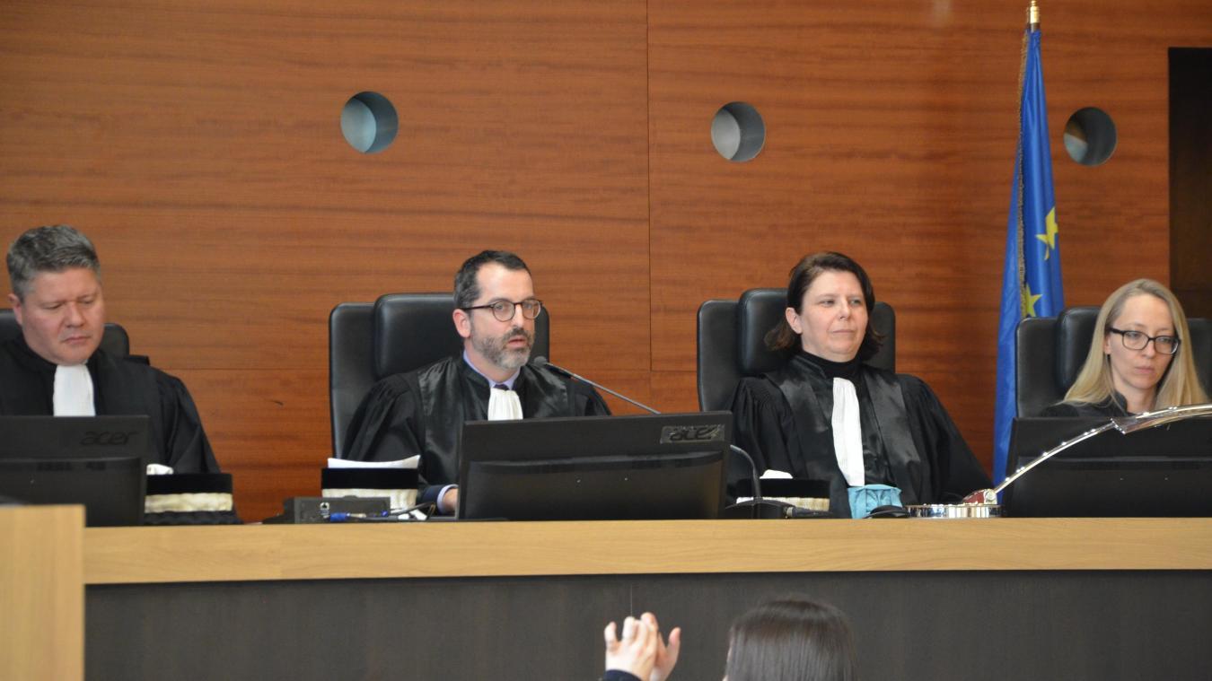 Guillaume Meunier, le président du tribunal, était beaucoup moins entouré que d'habitude.