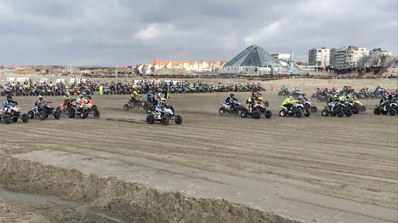 C'est parti pour 2h30 de course pour les 400 quads engagés dans l'édition 2019.
