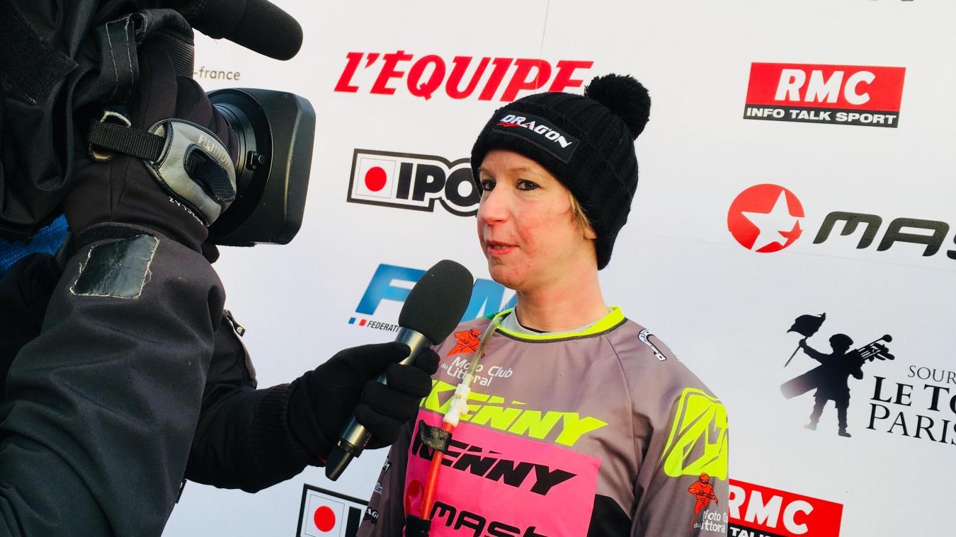 Émilie Bourgeois rêvait de remporter le Quaduro du Touquet dans la catégorie féminine.