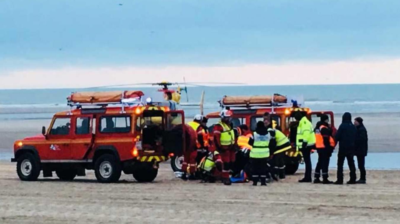 L'accident s'est produit à peine quelques secondes après le départ.
