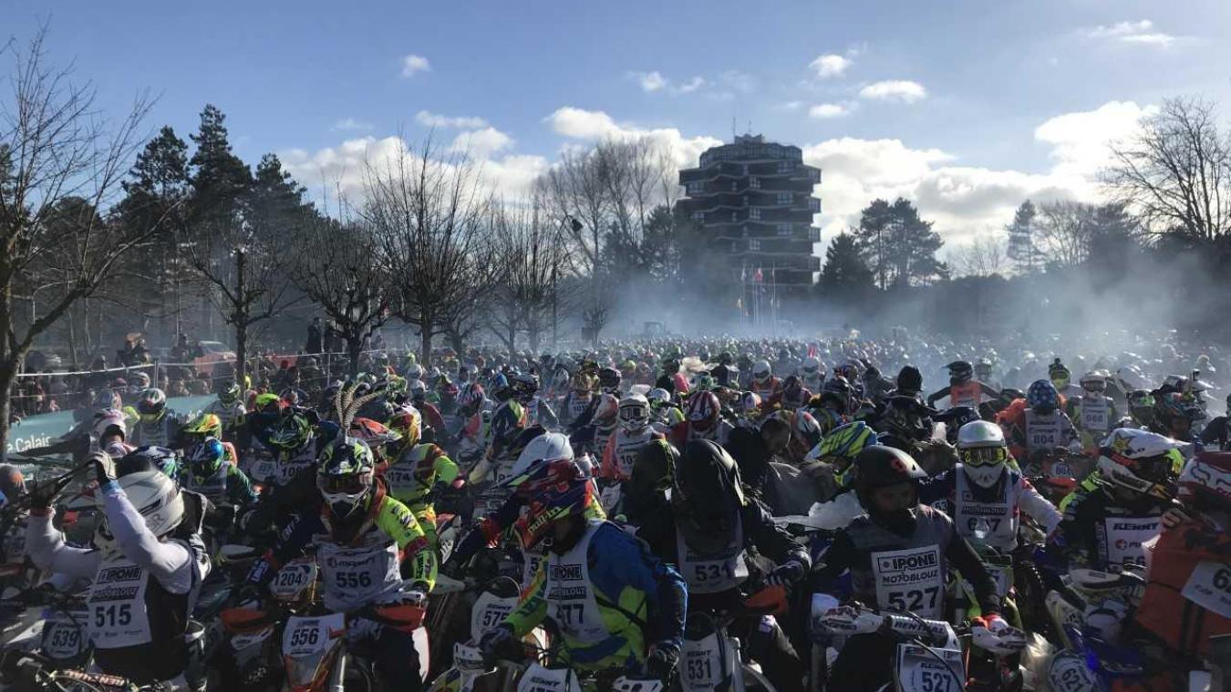 Briefing pour les 1200 motards