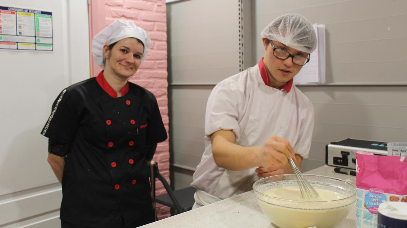 Auchel : Ellie, cuisinier et trisomique