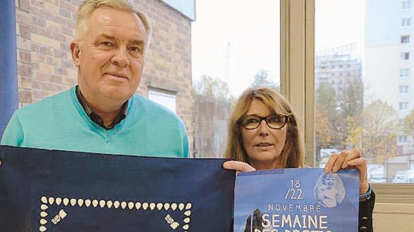 Annie Flament, ici en 2015, avec Jean-François Cecak.