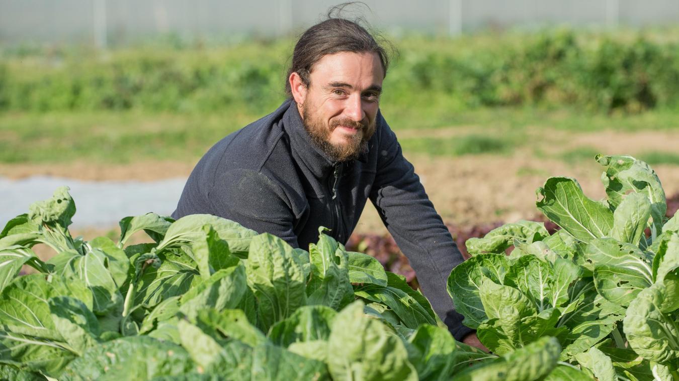 Jonathan Bétermier cultivera bientôt les légumes de la cantine.