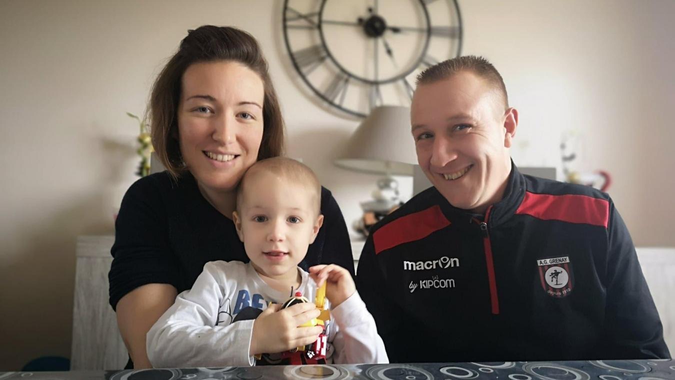 Sains-en-Gohelle: le petit Baptiste est en rémission de son cancer