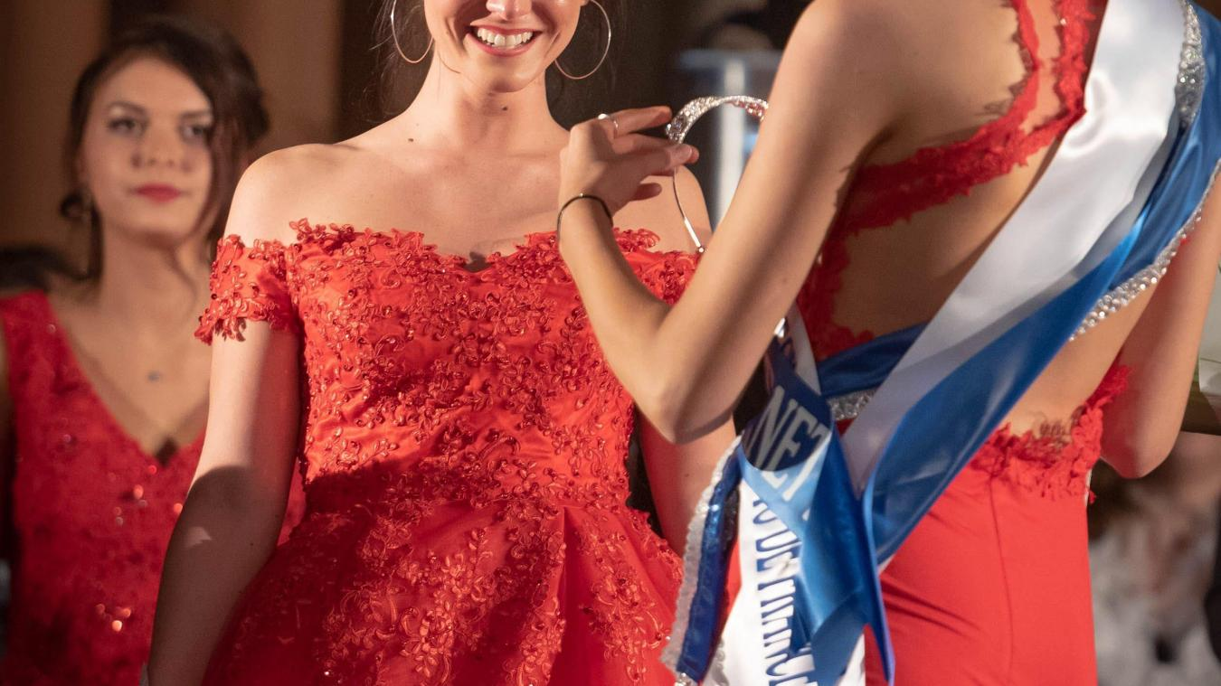 Pour une première, c'est un premier couronnement pour Marion Denudt, Miss Lens 2019.