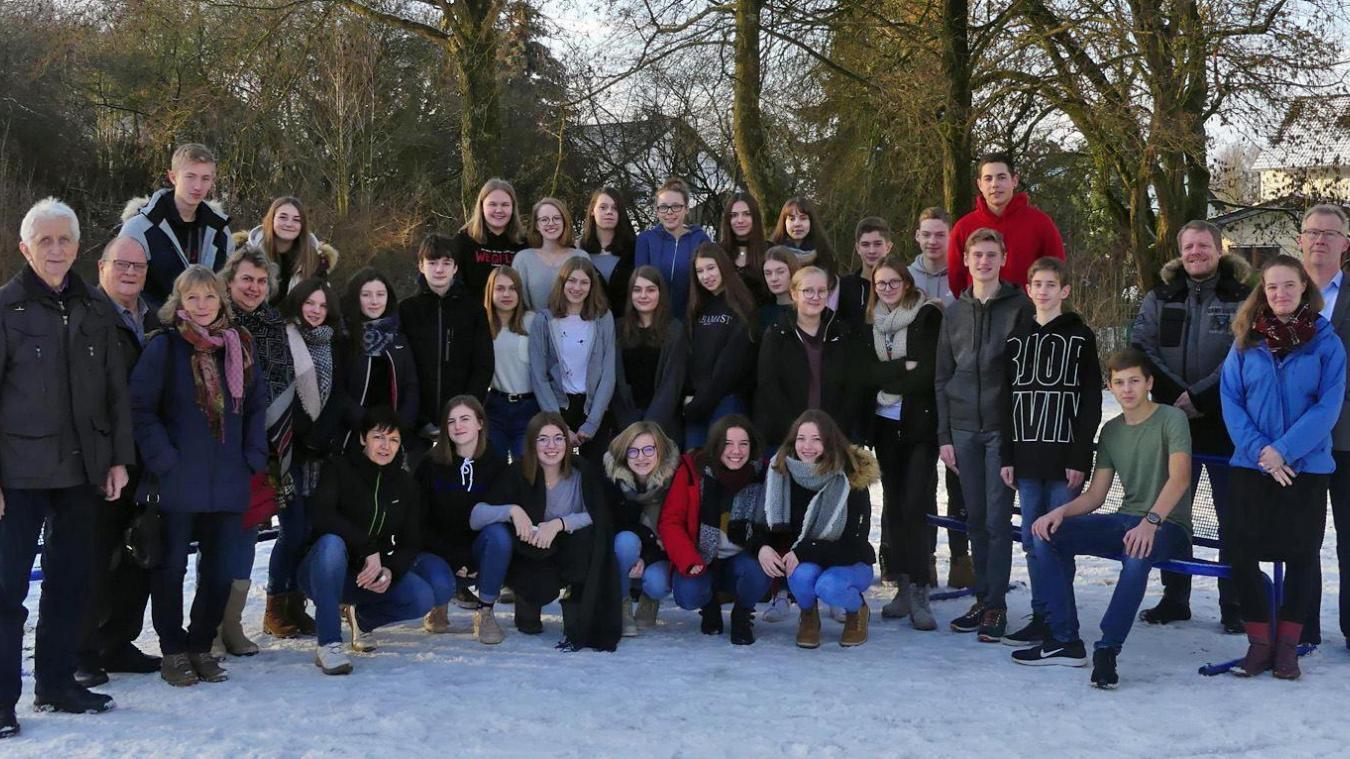 Les lycéens de Lillers ont rencontré ceux de Marsberg (Allemagne).