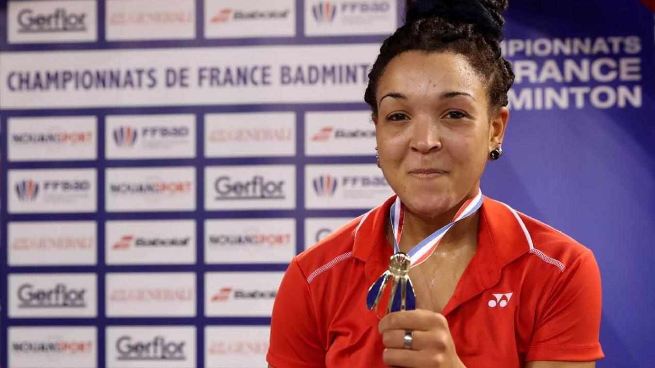 Marie Batomene a été sacrée championne de France en simple dames. Elle participe au championnat d'Europe au Danemark en cette fin de semaine.