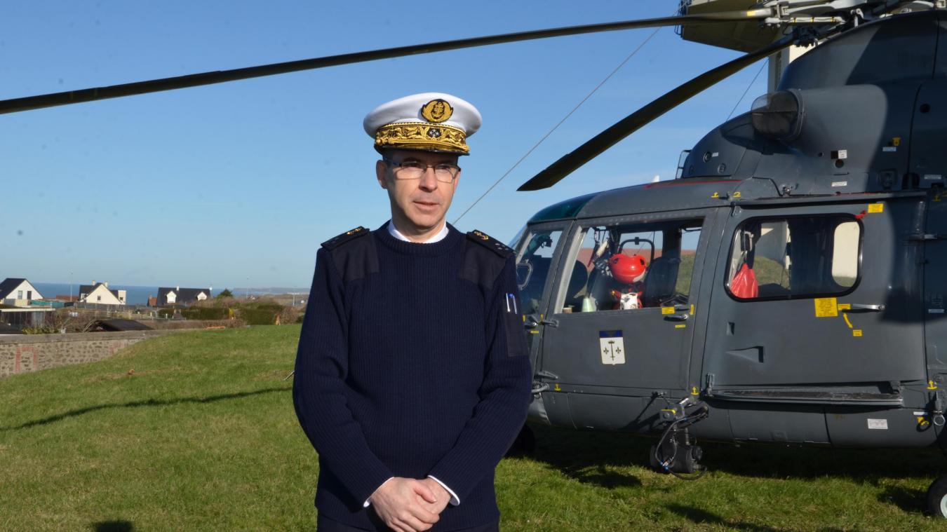 Le préfet maritime, le vice-amiral Dutrieux, a fait été d'une hausse des opérations de recherche et de sauvetage en mer sur l'année 2018.