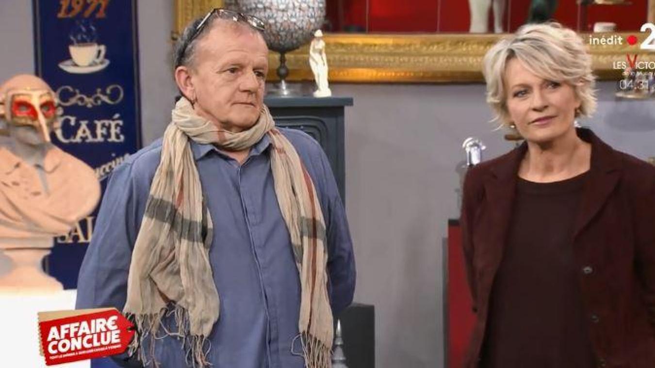 Bruno Decrock est passé sur France 2 vendredi 8 février.