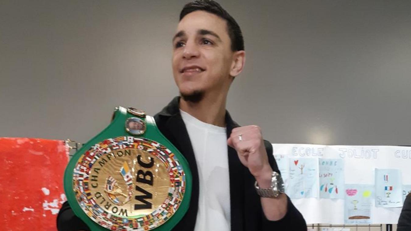 L'exploit du boxeur lensois Nordine Oubaali à Las Vegas