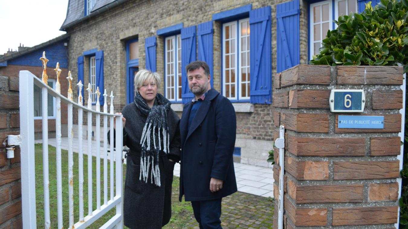 Laure et François Vandenbussche ont hâte de pouvoir accueillir leurs premiers clients dans le nouveau restaurant de Grand-Fort-Philippe.