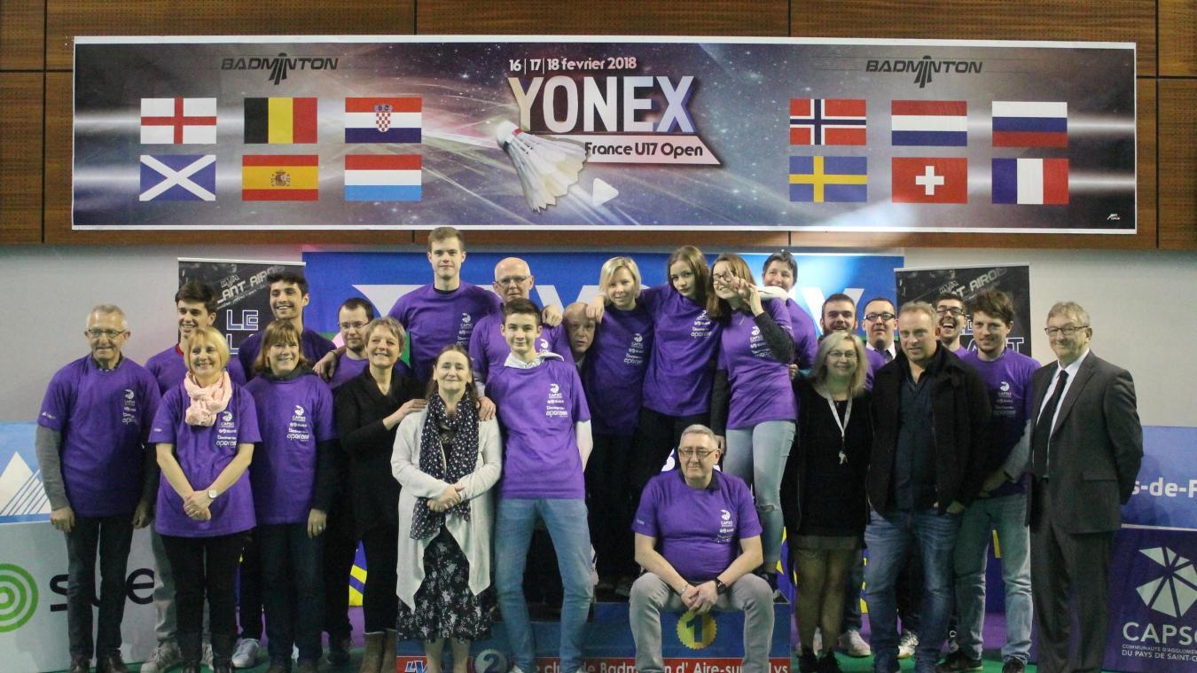 Pour la troisième année consécutive, les nombreux bénévoles du Volant airois se mobilisent pour faire de cette édition du Yonex France U17 une nouvelle réussite.