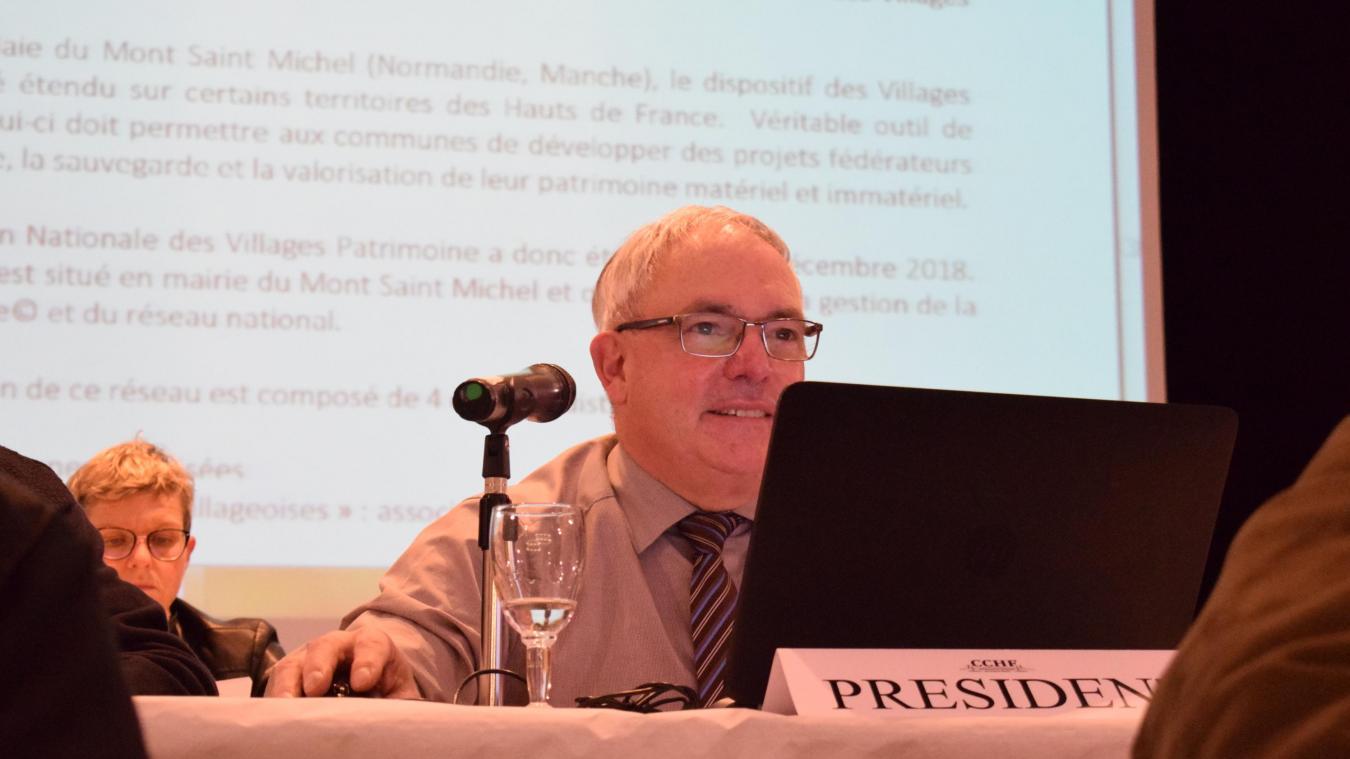 Pas question pour André Figoureux, président de la CCHF, de fusionner avec Flandre intérieure (50 communes) et Flandre-Lys (8) pour former une grande intercommunalité de 98 communes.