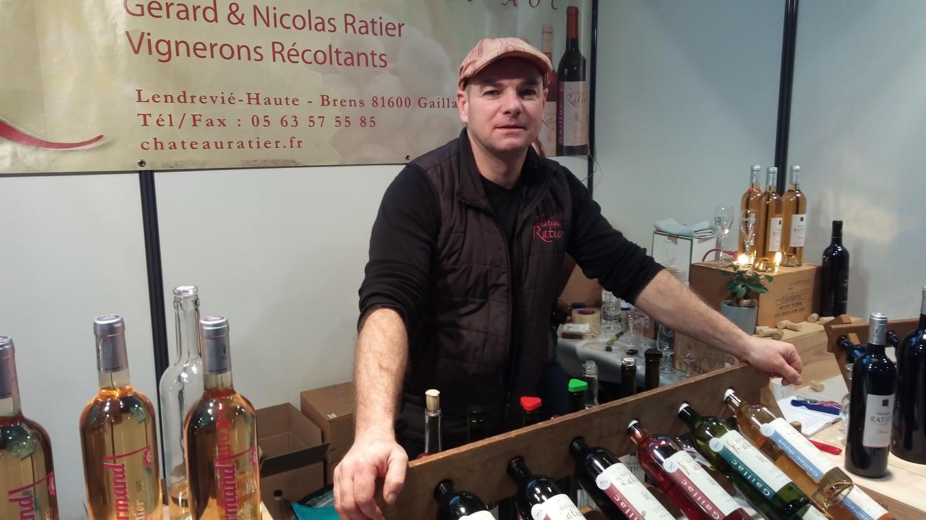 Vin du sud-ouest appellation Gaillac depuis 1972 vignoble aux multiples cépages depuis 5 générations.