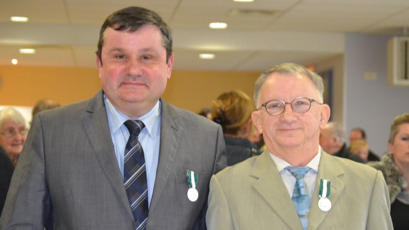Olivier Delbé et Bernard Boutillier sont tous deux élus à Febvin-Palfart.