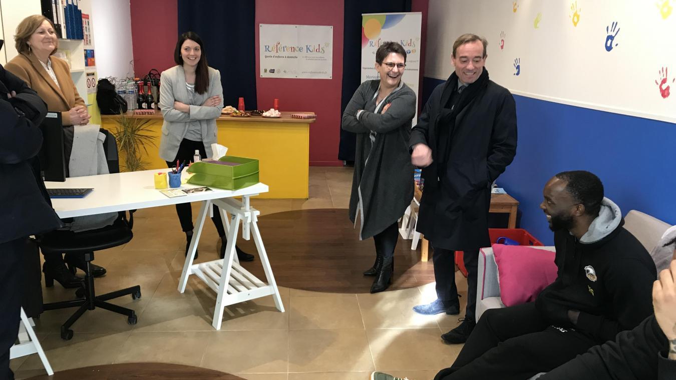 Référence Kids a été inauguré officiellement le 13 février, au 61 rue Victor-Hugo à Boulogne-sur-Mer.
